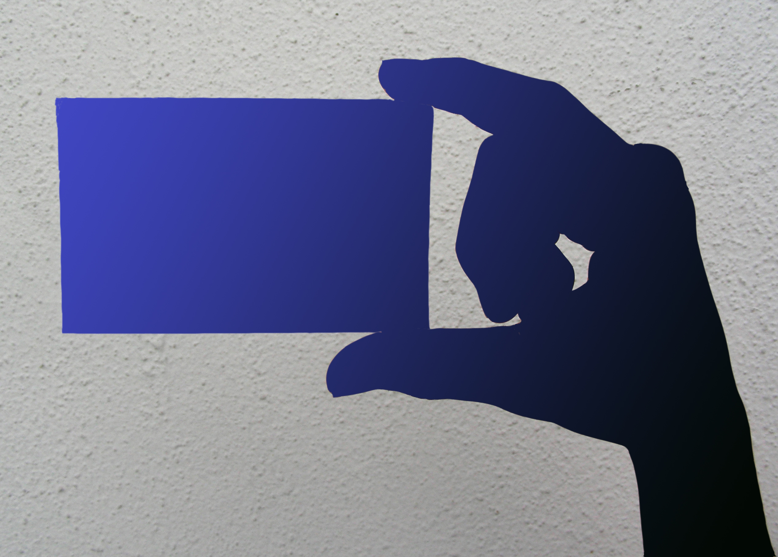 Der Hingucker im Angebot - Farbkern Visitenkarten